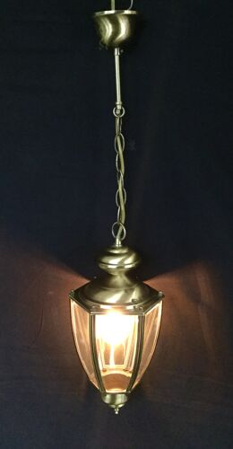 Lanterne 1 lumière en laiton
