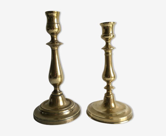 Brass old to candlesticks what with do Vintage &