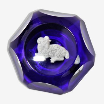 Presse-papier en cristal Baccarat Zodiaque