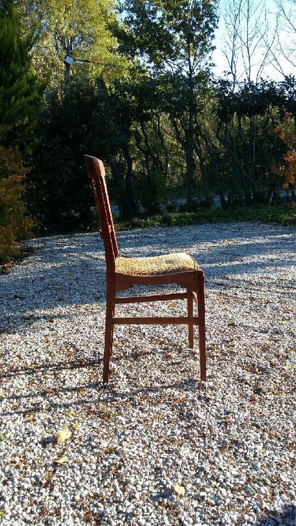 Paire de chaises de bistrot de marque stella