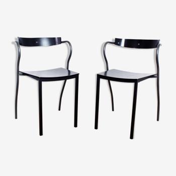Paire de chaises Rio de Pascal et Olivier Mourgue pour Artelano