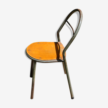Children's chair C27 manufactured by SCMM Mobilor circa 1950/1960
