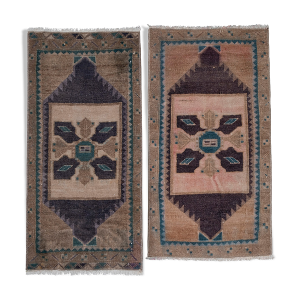 Turkish rugs 48 x 87 - 44 x 90 cm