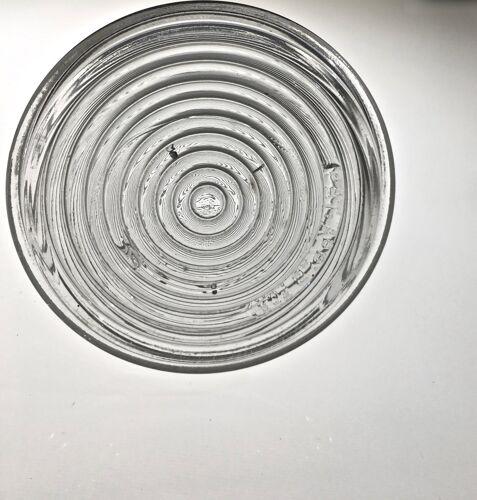 Carafe en verre dépression  circa 1935