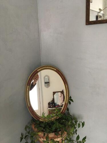 Miroir ovale