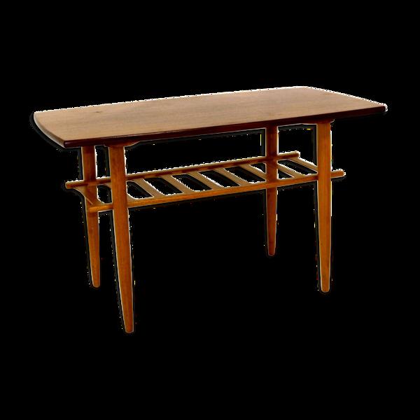 Selency Table basse en teck Suède 1960