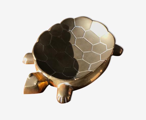 Vide poche tortue en laiton