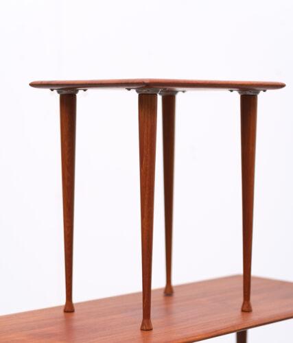 Teak nesting tables scandinavian, 1960s