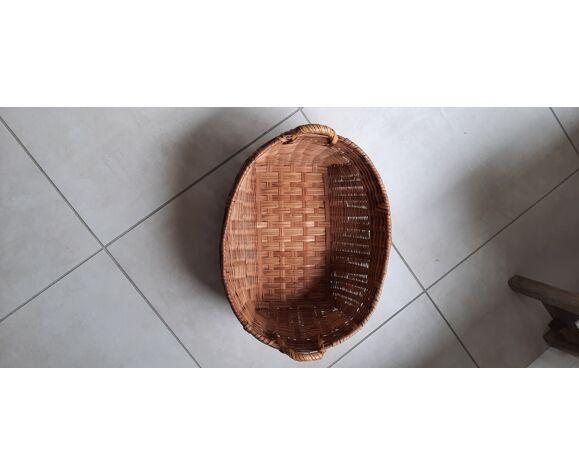 Panier style exotique en bambou