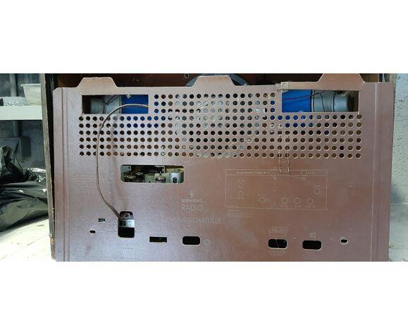 Radio à lampes siemens Schatulle h52