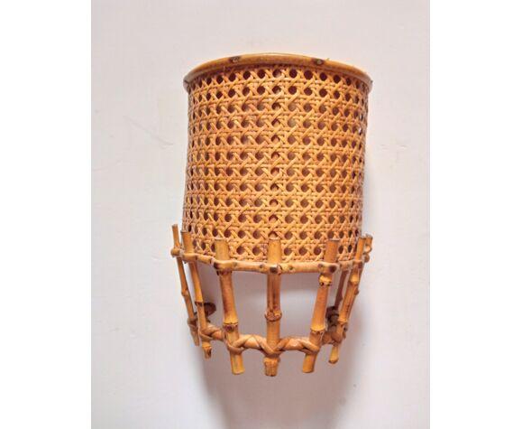 Applique vintage en bambou