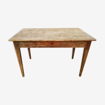 Table de ferme rustique 120 cm
