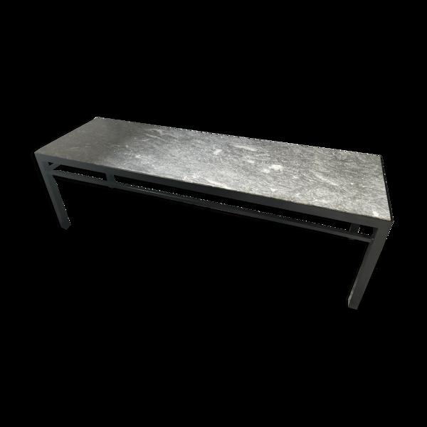Selency Table basse en marbre année 70
