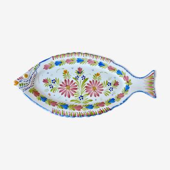 Fish dish Henriot Quimper