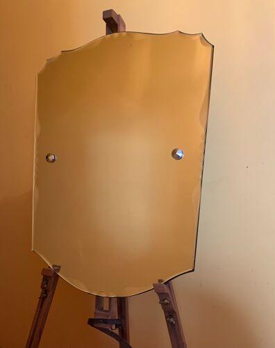 Miroir Art Deco biseauté année 1967