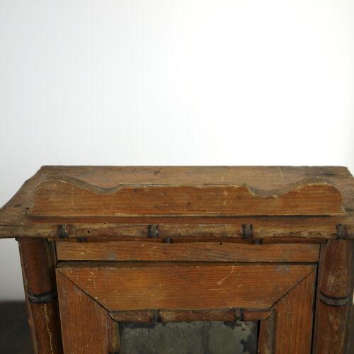 19th century doll cabinet