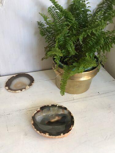 Cendrier en agate