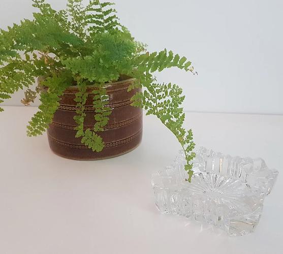 Cendrier en verre