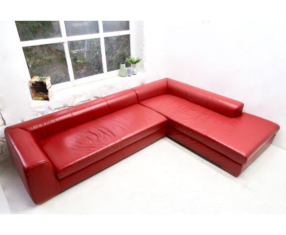 Ewald Schillig Leather Sofa 2000s Selency