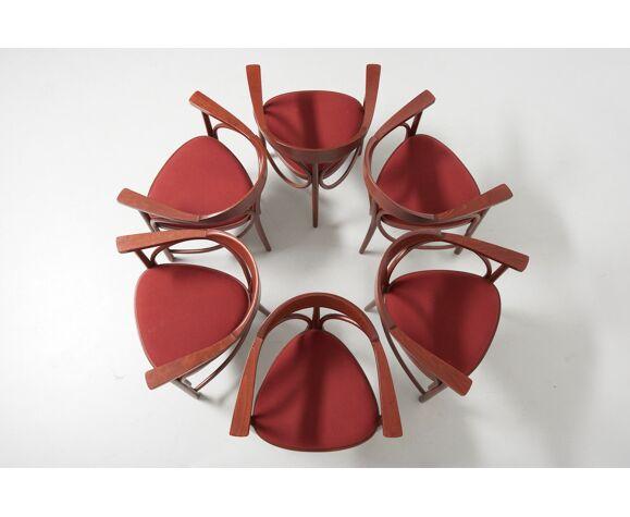 Ensemble de chaises à manger Modèle 81 par Michael Thonet pour Thonet, Autriche, 2002