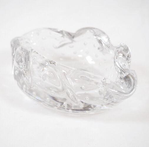 Cendrier en cristal signé Daum