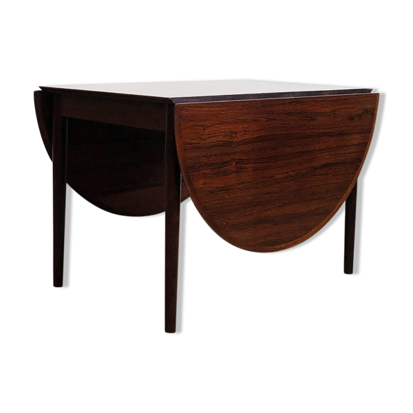 Table à manger extensible en bois de rose, modèle 227 d'Arne Vodder pour Sibast