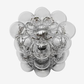 Applique bulles par Helena Tynell pour Glashütte Limburg