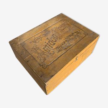 Boîte en bois L'Amidon Remy