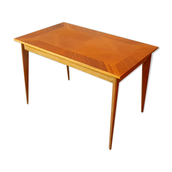 Table basse d'appoint marqueterie