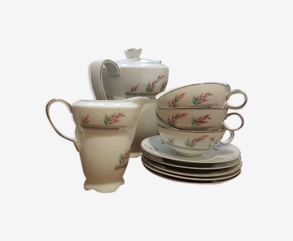 """Service à thé tchécoslovaque """"epiag"""""""
