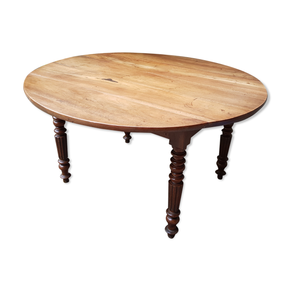 Table Louis Philippe en noyer