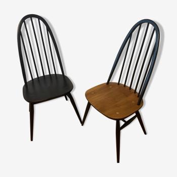 Parie de chaises Ercol Quaker