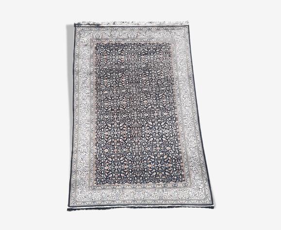Tapis ''kachan'' iranien fait main laine sur coton 248x151cm