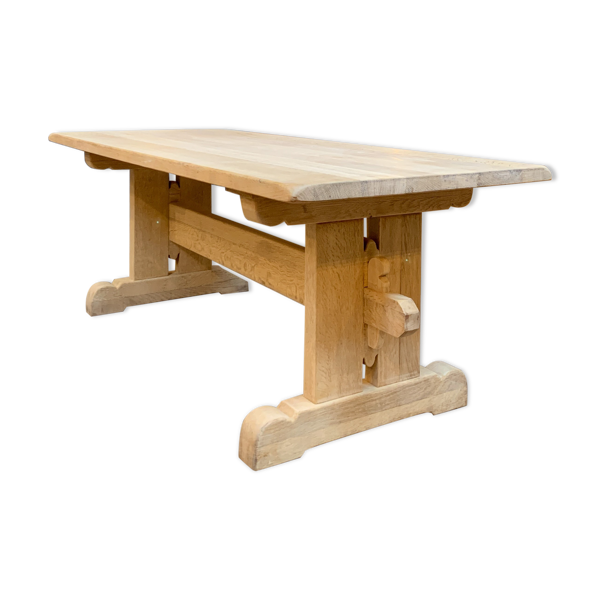 Selency Ancienne table de ferme en chêne
