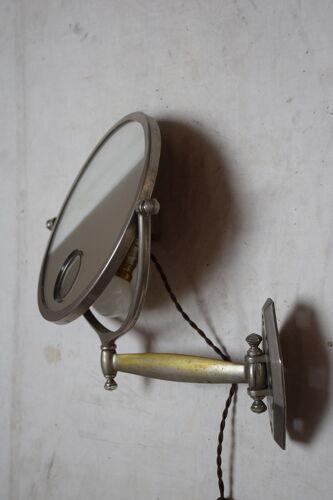Miroir grossissant Mirophar Brot circa 1930
