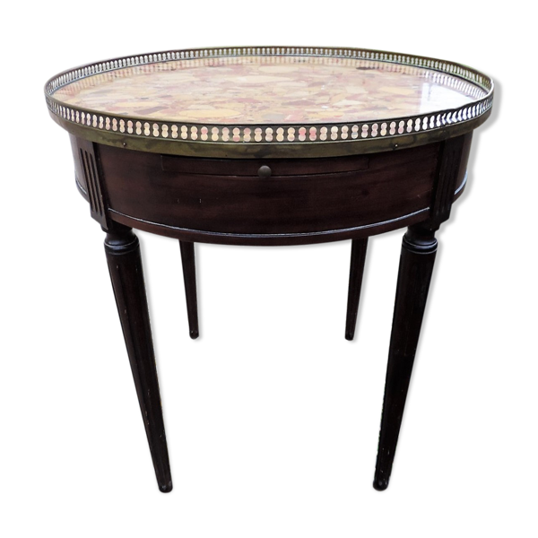 Table bouillotte ancienne