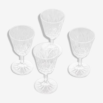 Set de 4 verres à pied