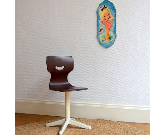 Chaise enfant Pagholz vintage