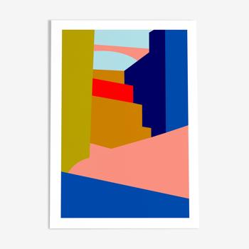 Luis - illustration en édition limitée (affiche a4)