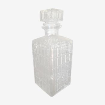 Carafe à whisky en verre