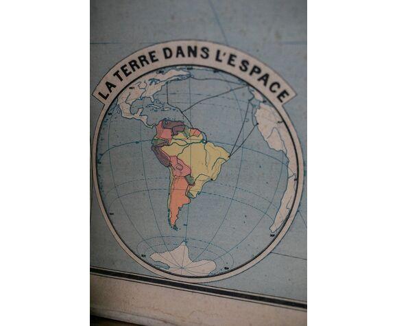 La carte de géographie Amérique du Sud Armand Colin n°20