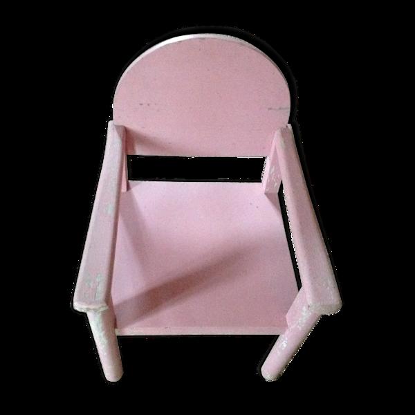 Fauteuil enfant rose