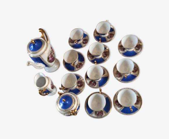 Service à café porcelaine Royal Epiag Circa 1940
