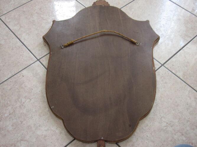 Miroir doré - 85x55cm