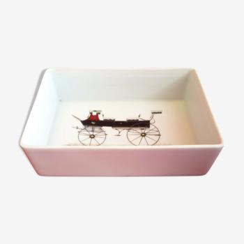 Vide poche boite rectangulaire Porcelaine de Paris Break 363
