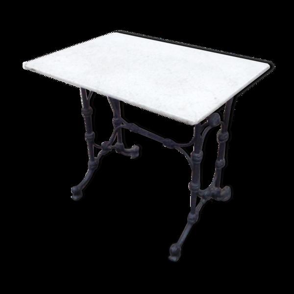 Table bistrot fonte Napoléon III