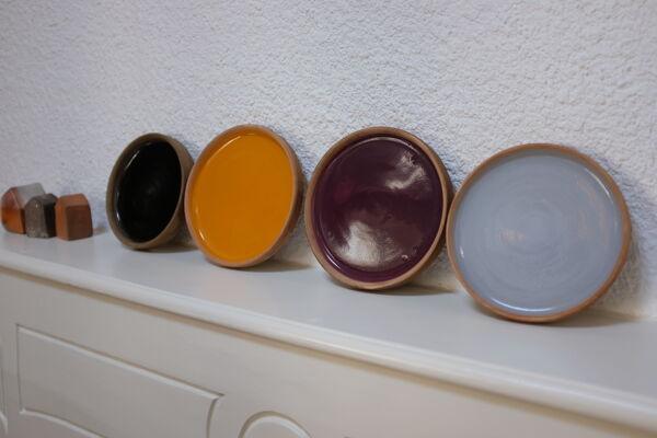 Céramiques assiettes couleur Laleh Soraya
