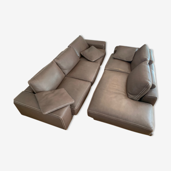 Sofa 5 places and meridian RocheBobois - Private Collection