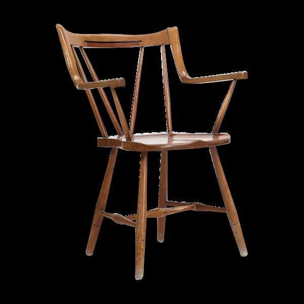 Chaise avec structure en hêtre teinté, Nils Koppel, Eva Koppel, 1947