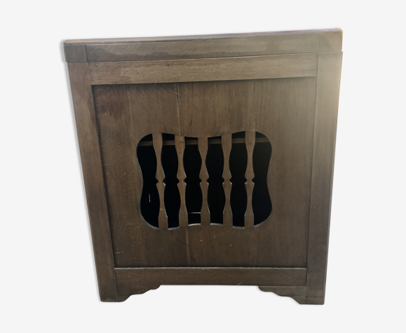 Meuble gramophone phonographe reversible